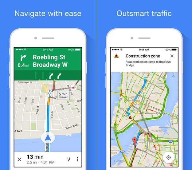 Google Maps iPhone Update