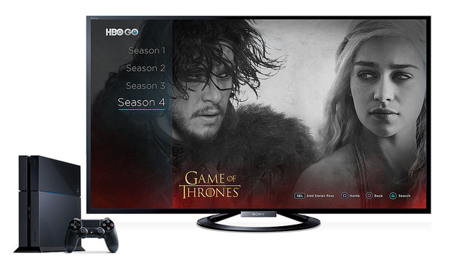 HBO GO On PS4