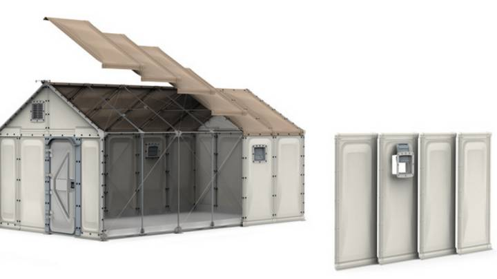 Ikea Better Shelter Modular Home