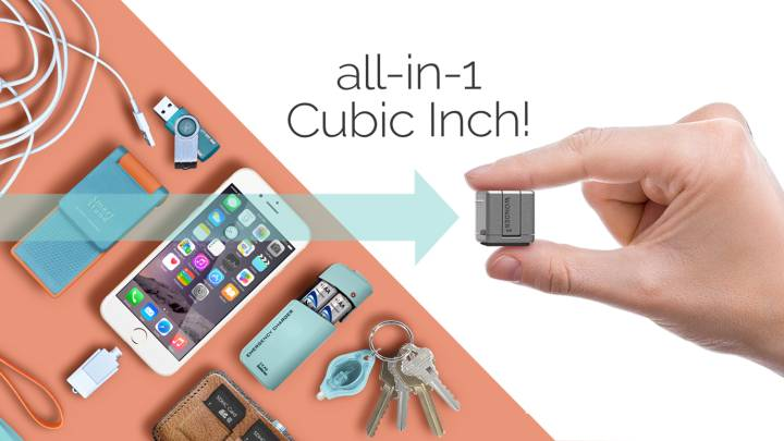 Indiegogo WonderCube for iPhone and Android