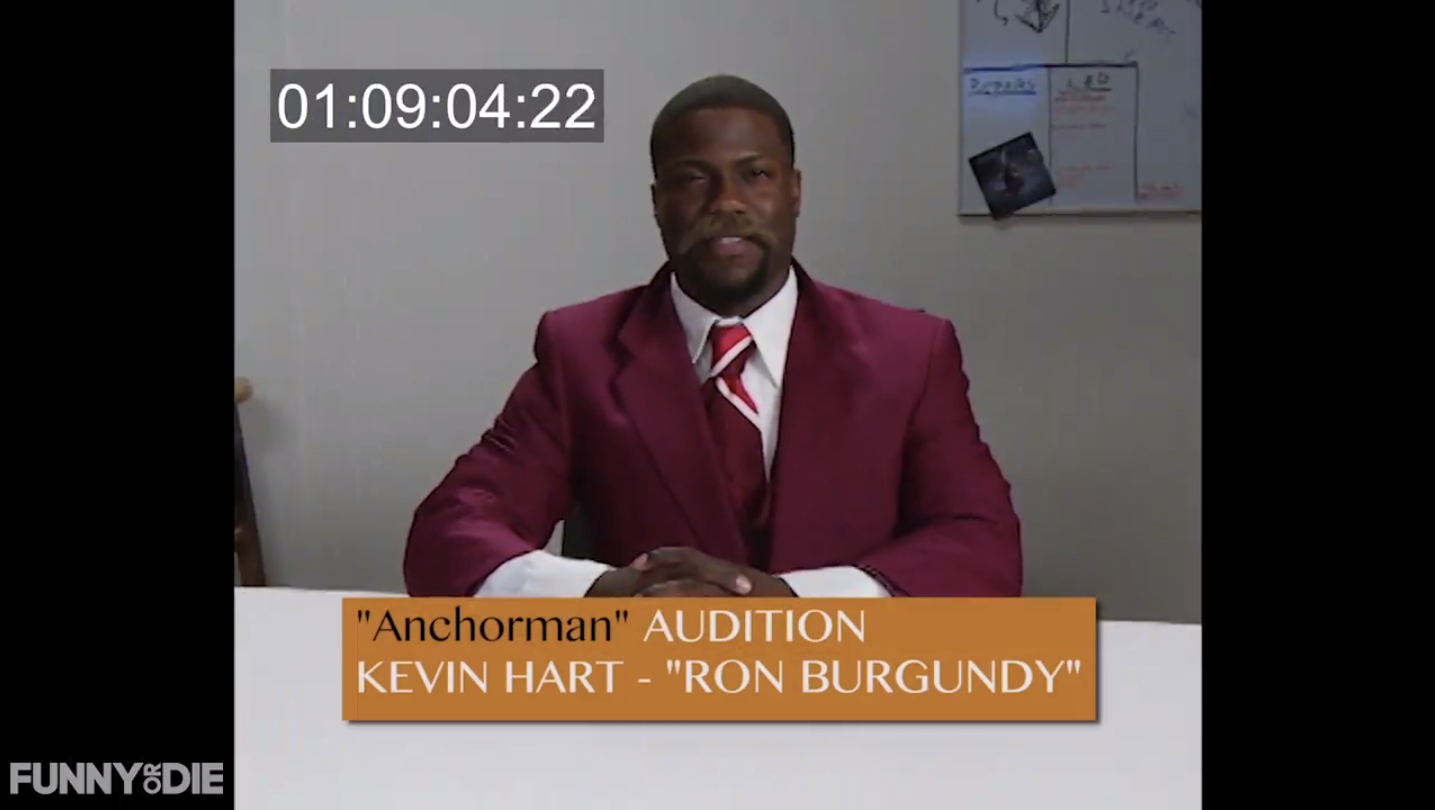 Will Ferrell Kevin Hart Audition Tapes