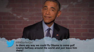 Jimmy Kimmel Mean Tweets Obama