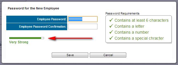 Password Strength Security