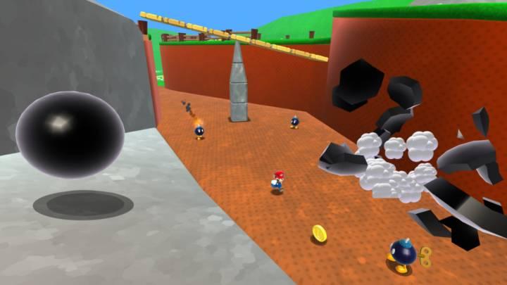 Super Mario 64 in Browser