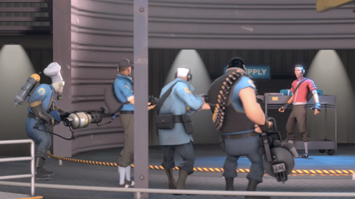 Team Fortress 2 Live and Let Spy