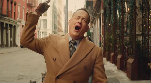 Tom Hanks 'I Really Like You' Video