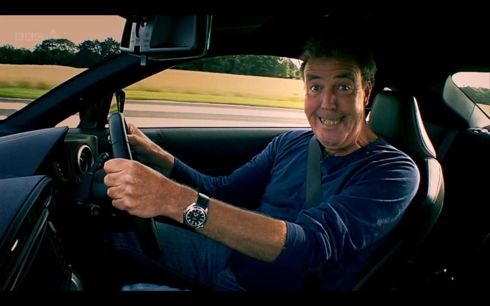 Top Gear Jeremy Clarkson Tank Stunt
