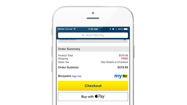 Best Buy Apple Pay Support