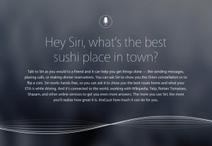 Apple Siri New Website