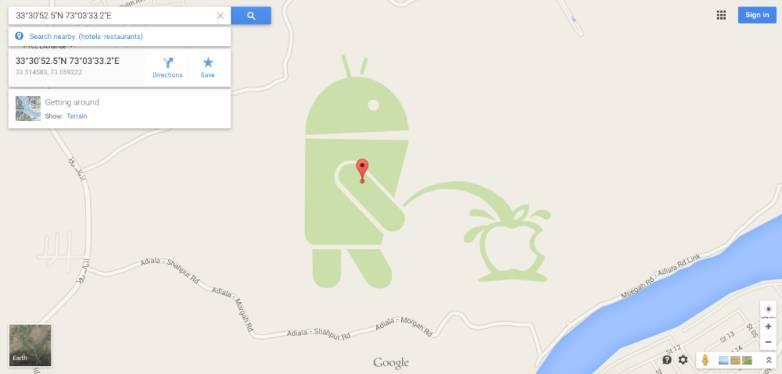 Google Maps Map Maker