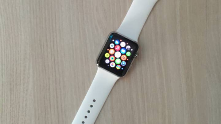 Apple Watch Sport in Gold
