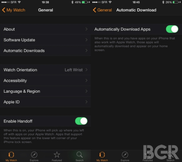 how to download install arrange apple watch apps