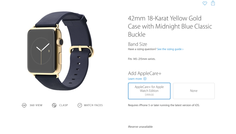 Apple Watch AppleCare Protection Plan
