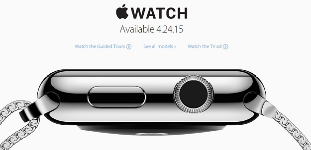 Apple Watch Launch April