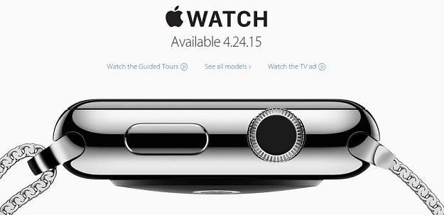 Apple Watch Launch April