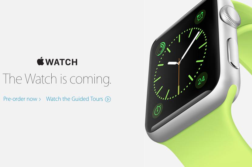 Apple Watch Release Date Availability