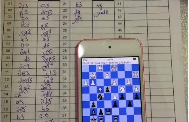 iPhone Chess