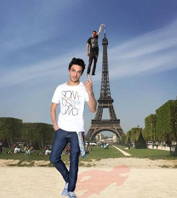eifel tower bro finger