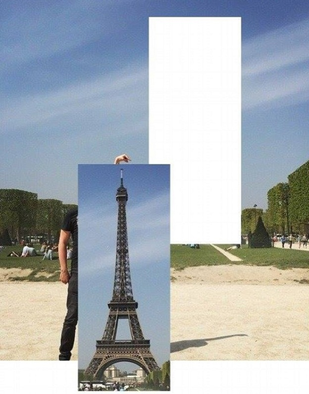 eifel tower paris photo fail