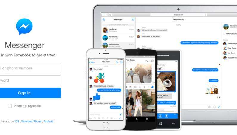 Facebook Messenger for Windows and Mac