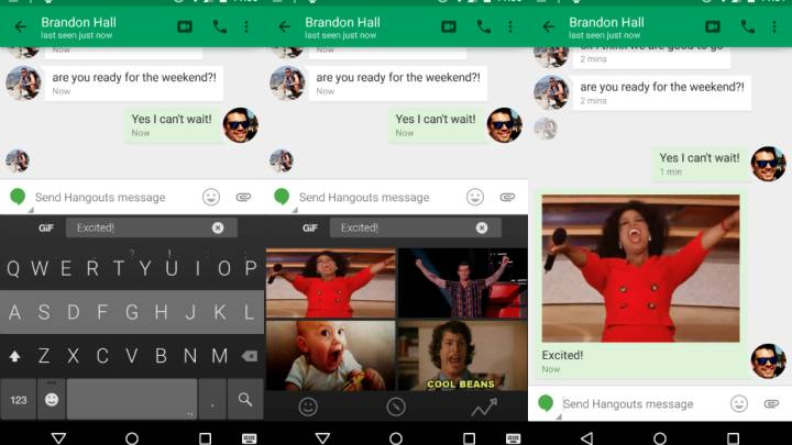 Fleksy for Android GIF Keyboard