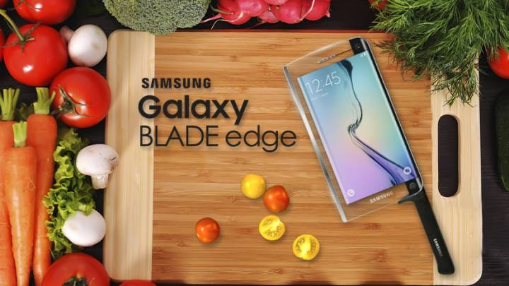 April Fools 2015: Samsung Galaxy Blade edge