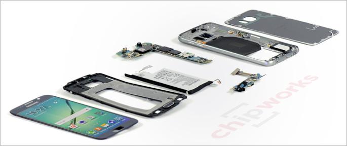 Galaxy S6 Teardown Exynos 7420 Chip