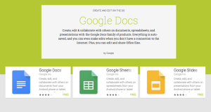 Google Docs iPhone iPad Android Update