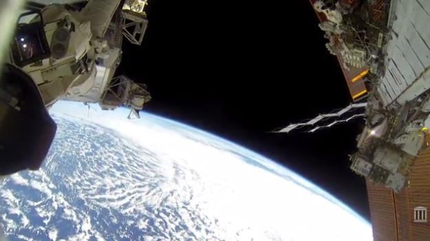 GoPro Astronaut Spacewalk Video