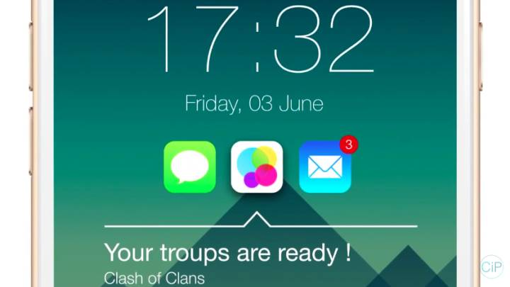 iOS 9 Features: Lock Screen Apps Concept