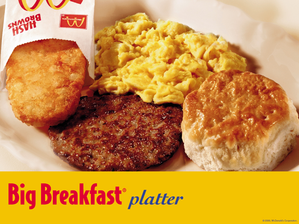 McDonald's All Day Breakfast 4/20