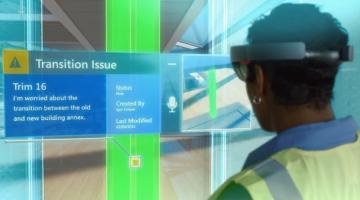 Microsoft HoloLens Virtual Reality Demo Video