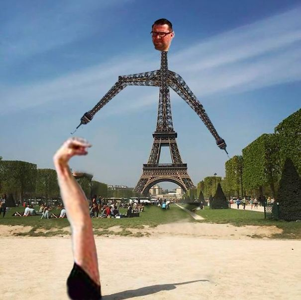 photoshop fail paris eifel tower