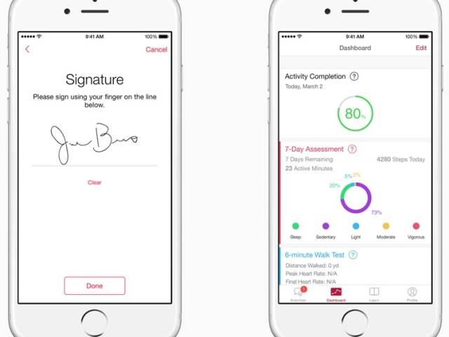 ResearchKit for iPhone 6 and iOS 8