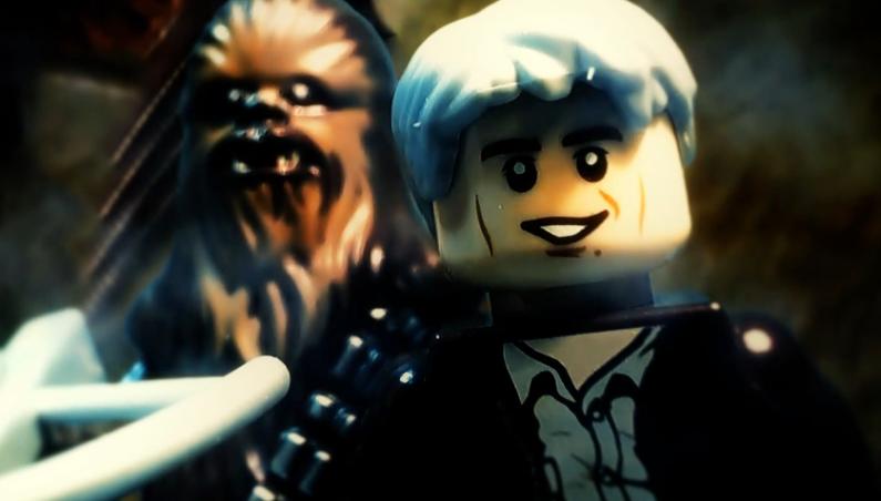 Star Wars The Force Awakens Legos Trailer