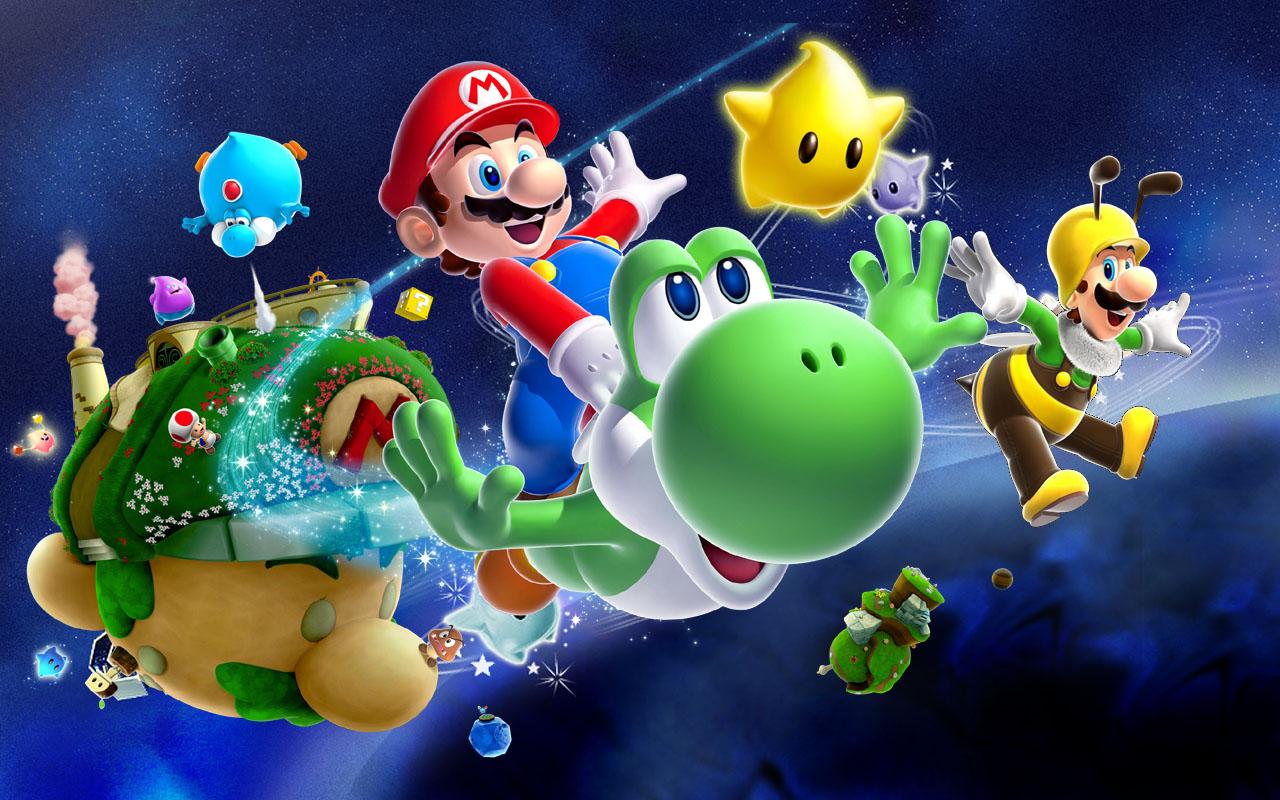 Super Mario Galaxy Unreal Engine 4