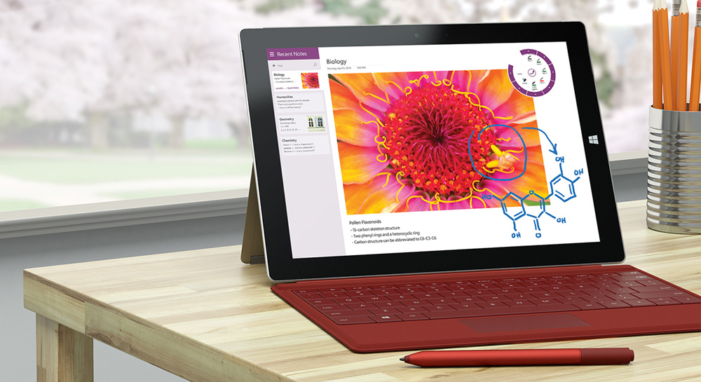 Microsoft Surface Pro 4 Live Stream