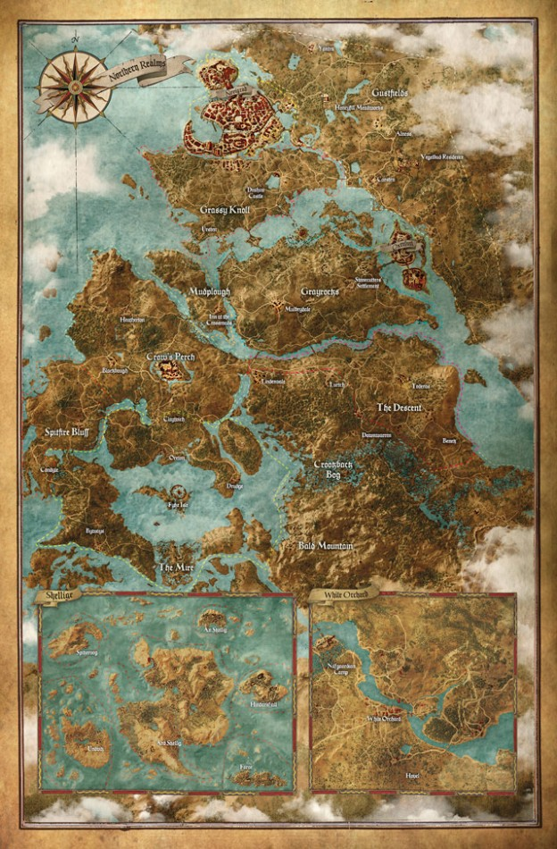 The Witcher 3 world map See the game s huge world map right here BGR