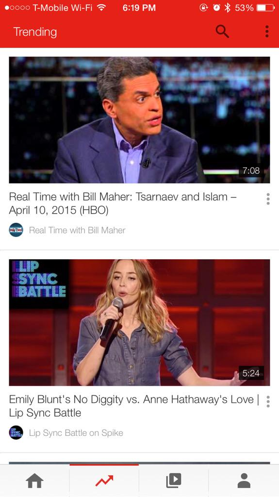 Youtube trending