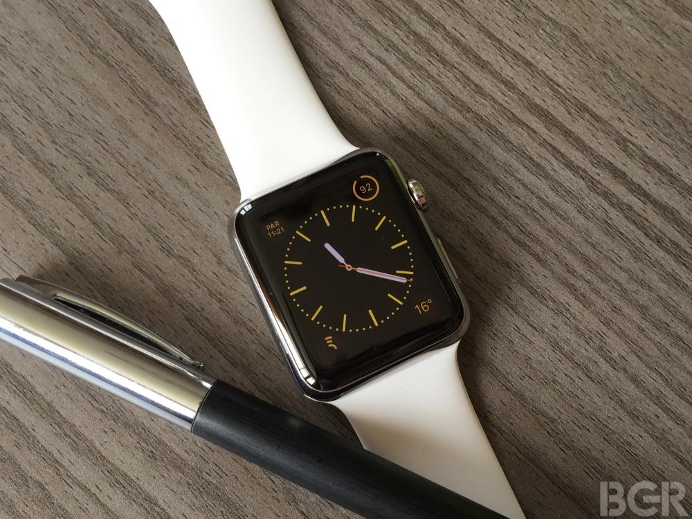 Huge Apple Watch 2 Leak Reveals 4 Brand New Features – BGR