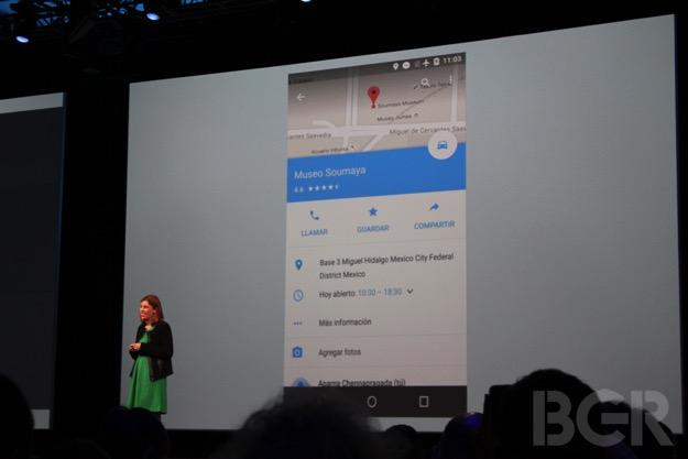 Android M: Google Maps Offline Navigation Support