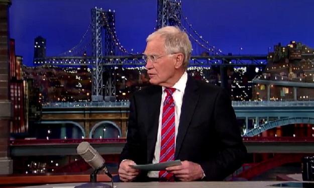 David Letterman Apple Watch
