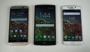 Galaxy S6 edge Vs. LG G4 Vs. HTC One M9
