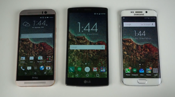 Galaxy S6 edge Vs. LG G4 Vs. HTC One M9