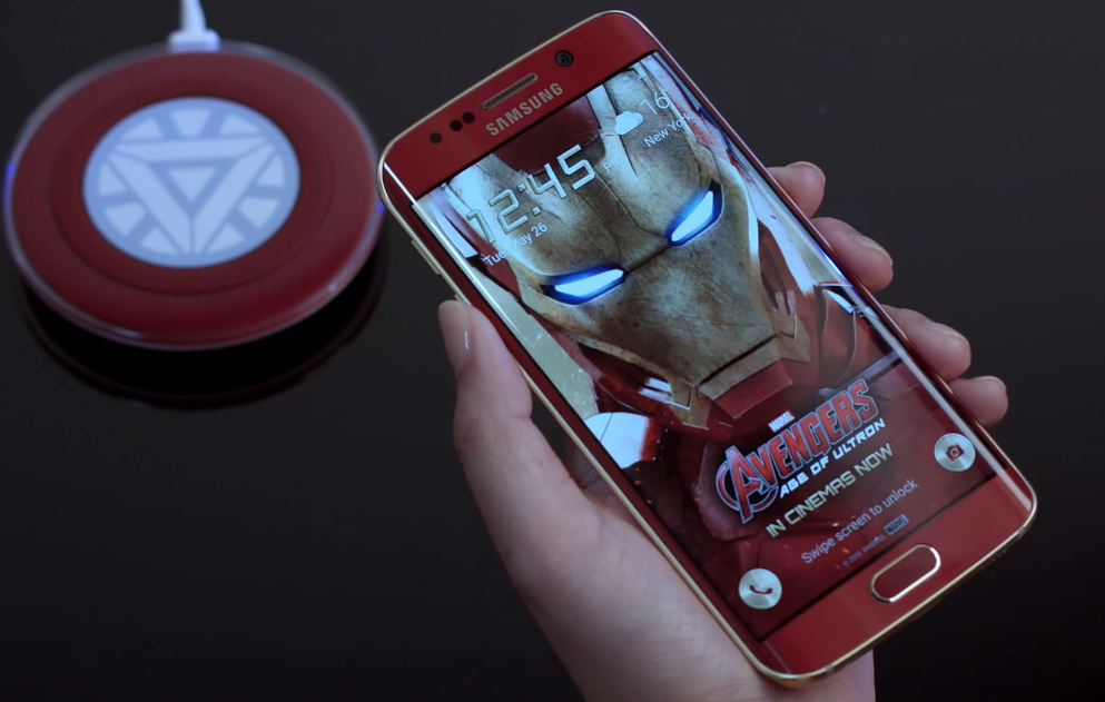 Galaxy S6 Edge Iron Man Unboxing Video