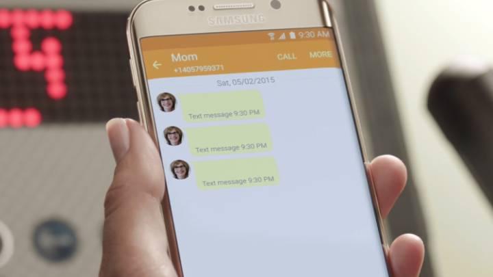 Google Samsung RCS messaging