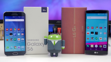 Samsung Galaxy S6 Vs. LG G4 Video