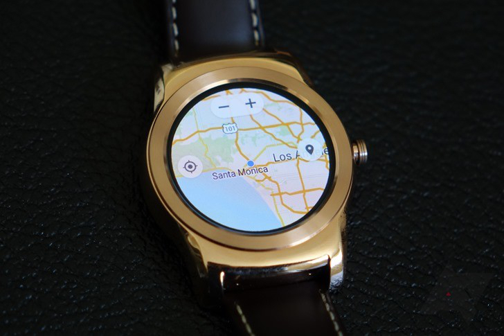 Google Maps Android Wear Support
