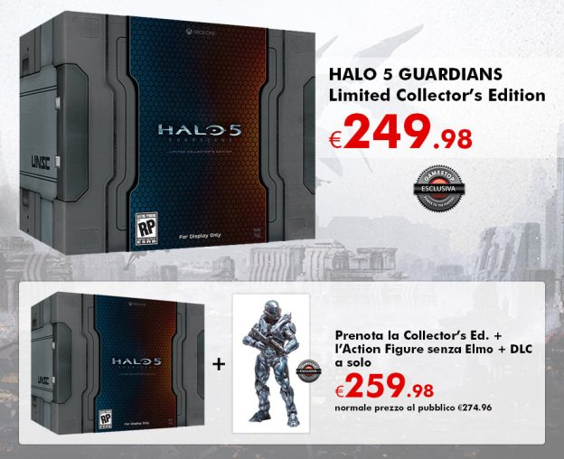 The massive expensive halo 5 guardians limited collector s edition