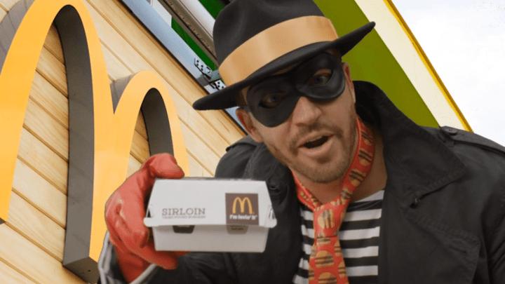 McDonald's New Hamburglar Ad Video